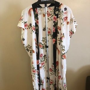 Other - Swimsuit coverups with flower patterns
